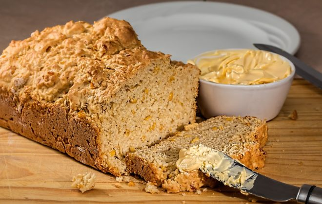 Vidalia onion corn bread